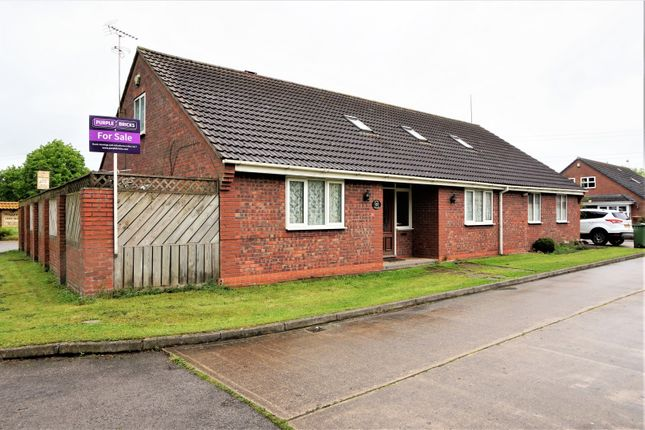 Thumbnail Detached bungalow for sale in St. Peters Walk, Wawne, Hull