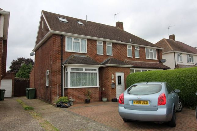 Thumbnail Semi-detached house for sale in Hogarth Avenue, Ashford