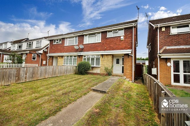 Thumbnail Semi-detached house for sale in Bryncyn, Cardiff