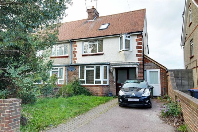 Thumbnail End terrace house for sale in Marlowe Road, Broadwater, West Sussex