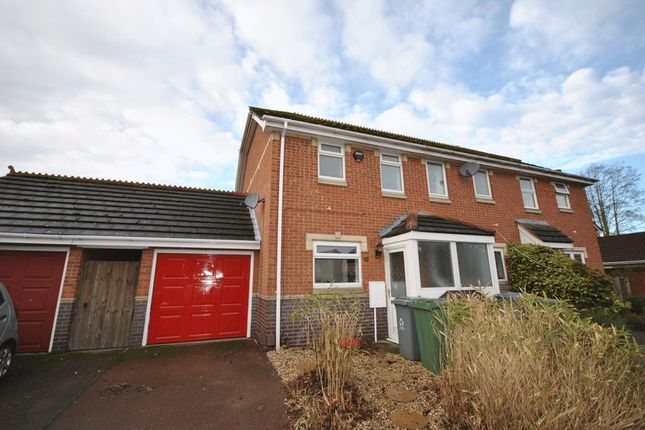 2 bed semi-detached house for sale in Marston Moor, Dussindale, Norwich
