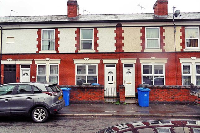Thumbnail Terraced house to rent in Grosvenor Street, Derby
