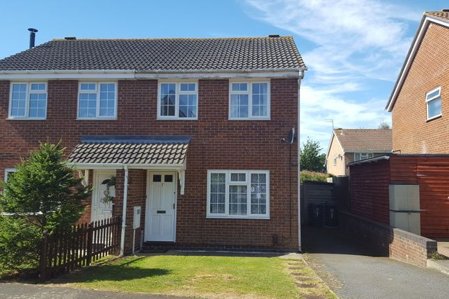 Thumbnail Semi-detached house to rent in Glamis Close, Rushden