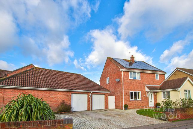 4 bed detached house for sale in Barncroft Close, Highwoods, Colchester CO4