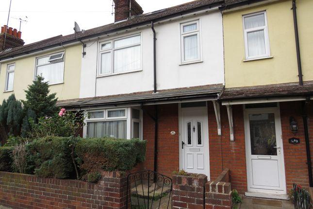 Thumbnail Terraced house for sale in Birch Avenue, Dovercourt, Harwich