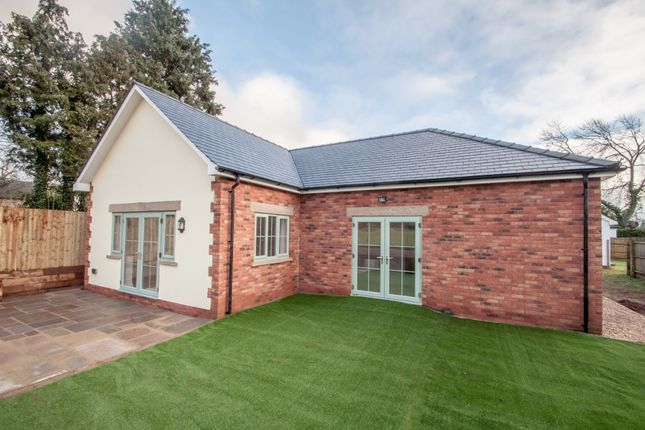 Thumbnail Detached bungalow for sale in Wormelow, Hereford