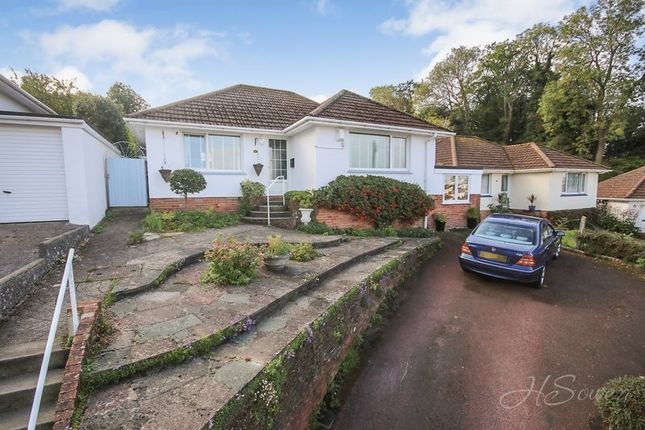 Thumbnail Detached bungalow for sale in Briwere Road, Torquay