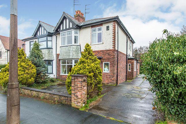 Thumbnail Semi-detached house for sale in Brooklands Avenue, Fulwood, Preston, Lancashire