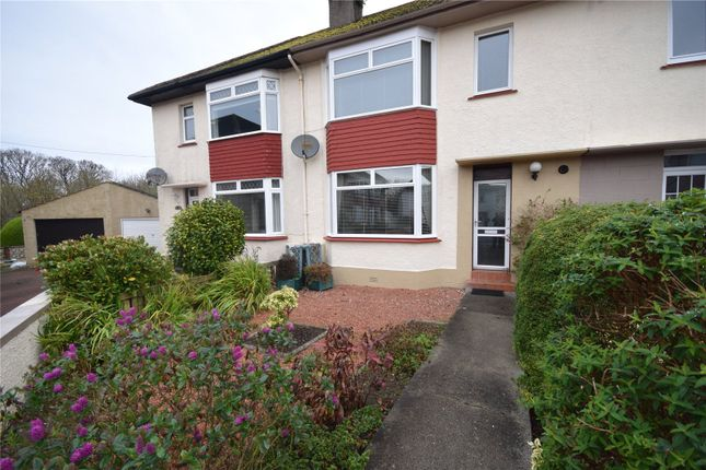 Thumbnail Terraced house for sale in Blackdales Avenue, Largs, North Ayrshire