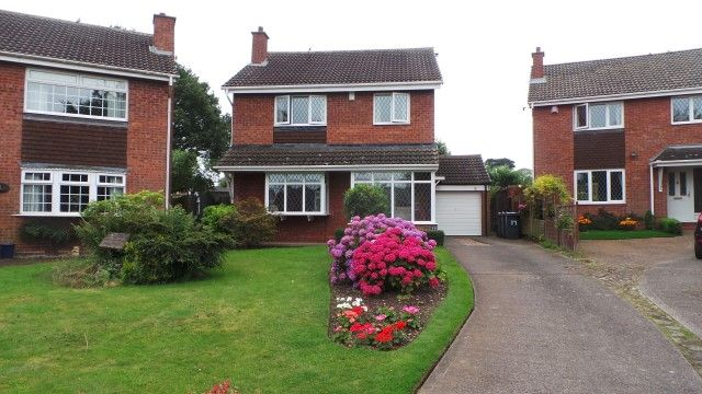 Thumbnail Detached house for sale in Corncrake Close, Sutton Coldfield