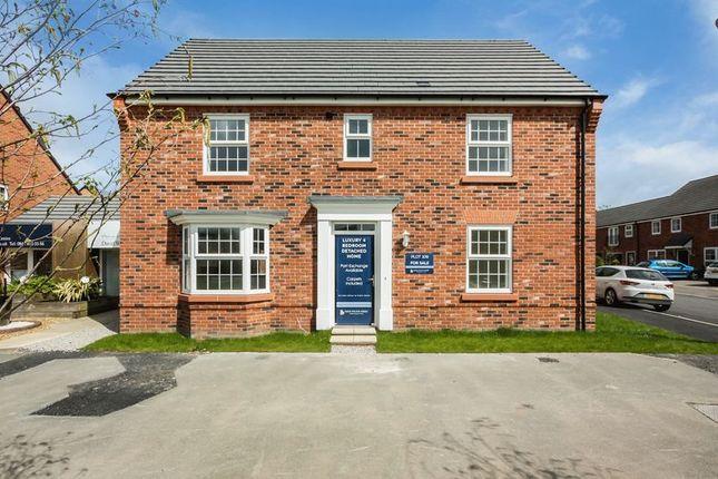 Thumbnail Detached house for sale in Plot 109 Layton, Gilberts Cross, Moss Lane, Sandbach