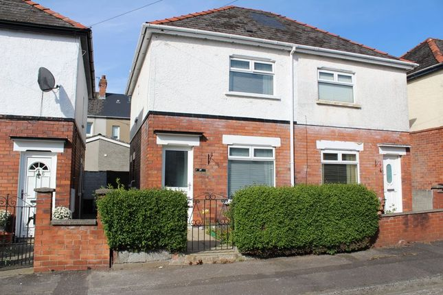 Thumbnail Semi-detached house to rent in Dunraven Crescent, Belfast