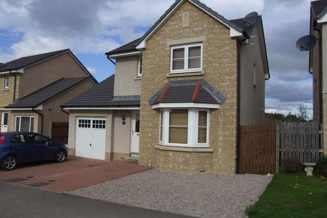 Thumbnail Detached house to rent in Castleview Avenue, Kintore, Inverurie