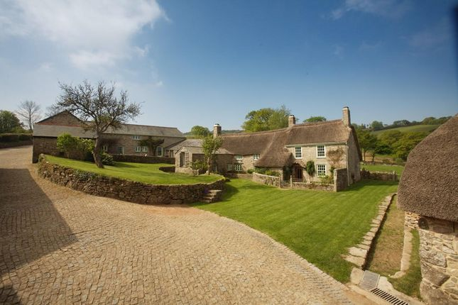Thumbnail Detached house for sale in Ponsworthy, Newton Abbot, Devon