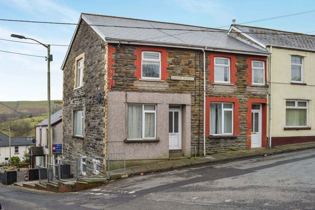 Thumbnail Flat for sale in Station Terrace, Bedlinog, Treharris