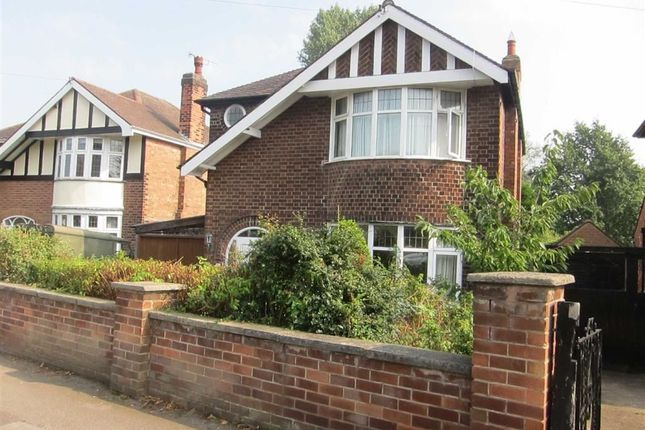 Thumbnail Detached house to rent in Hillside Avenue, Mapperley, Nottingham