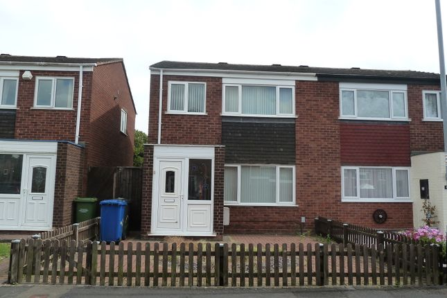 Thumbnail Semi-detached house to rent in Colbrook, Tamworth