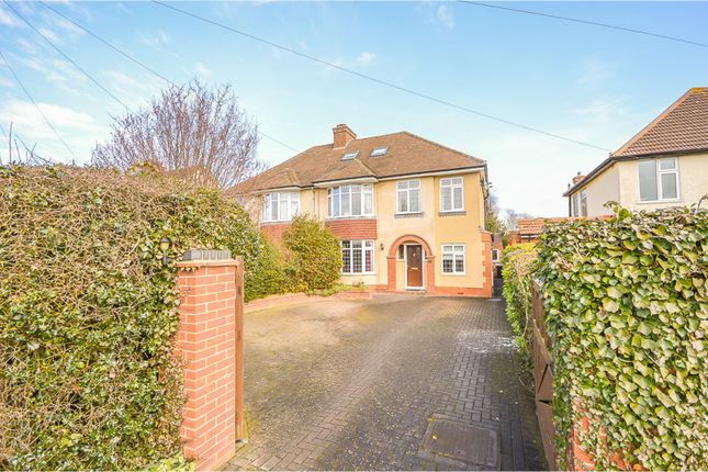 Thumbnail Semi-detached house for sale in Wootton Road, Wootton
