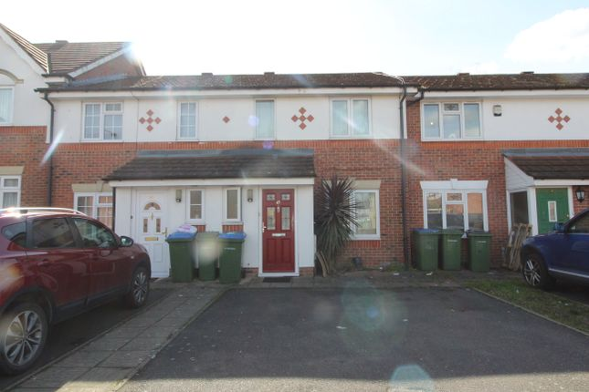 Thumbnail Terraced house for sale in Sunset Road, Central Thamesmead
