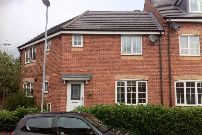 Thumbnail Semi-detached house to rent in 15 Godwin Way, Trent Vale