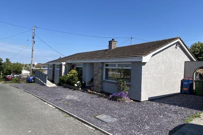 Thumbnail Detached bungalow for sale in Lon Y Bryn, Trearddur Bay, Holyhead