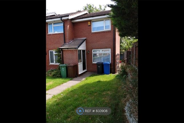 Thumbnail End terrace house to rent in Oak Bank Close, Whitefield, Manchester