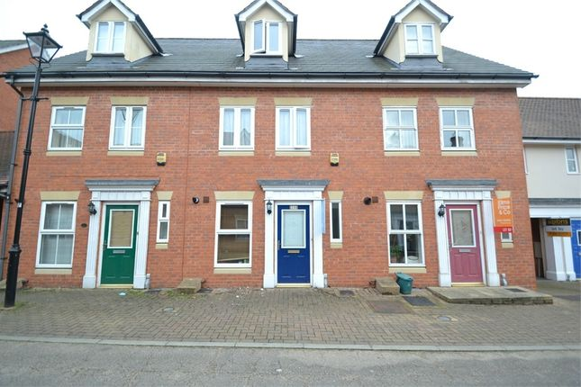 Thumbnail Terraced house to rent in Hatcher Crescent, Colchester, Essex