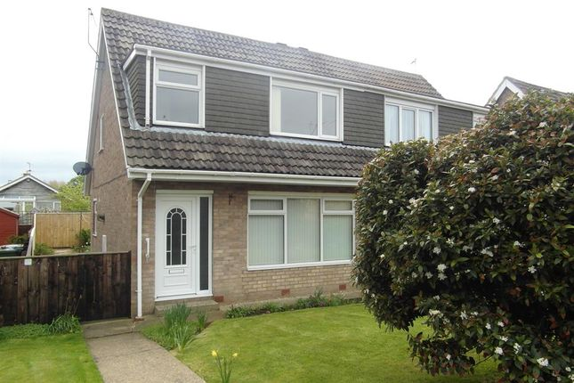 Thumbnail Semi-detached house to rent in Rosewood Walk, Bridlington