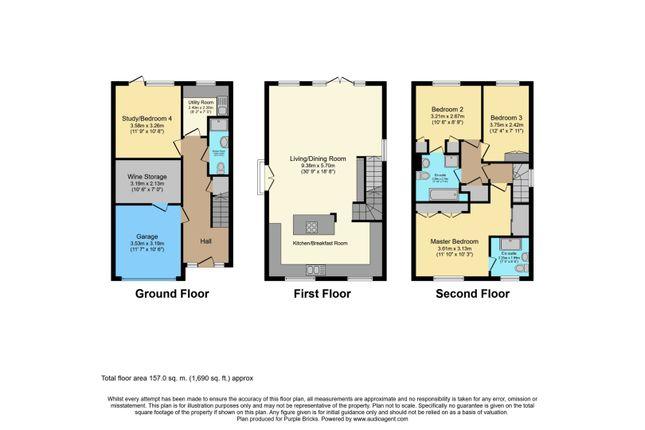 Floor Plan of Epping New Road, Buckhurst Hill IG9