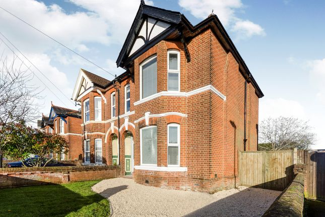 Thumbnail Semi-detached house for sale in Welbeck Avenue, Highfield, Southampton