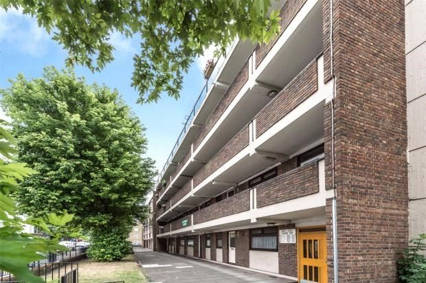 Thumbnail 1 bed flat for sale in Sheridan House, York Road, Battersea, London