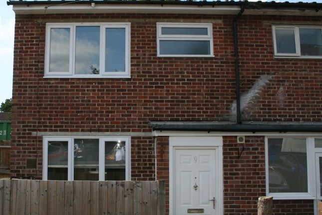 Thumbnail Terraced house to rent in Orchis Way, Romford