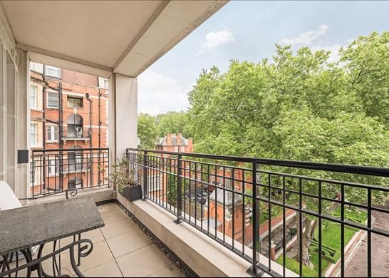 Balcony of Palace Green, Kensington, London W8