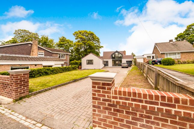 Thumbnail Detached bungalow for sale in Manor Road, Hartlepool