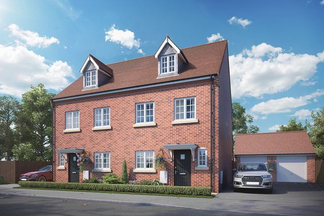 Thumbnail Semi-detached house for sale in Pershore Road, Evesham