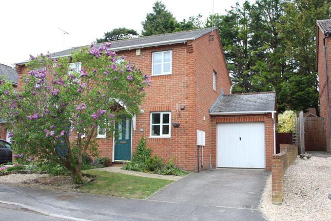 Thumbnail Semi-detached house for sale in Rockfel Road, Lambourn