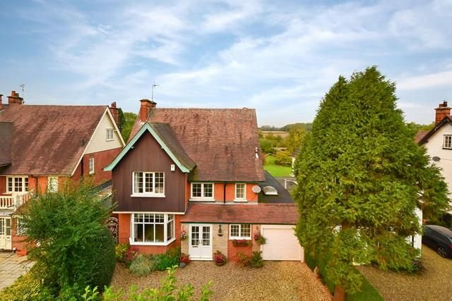 Thumbnail Detached house for sale in Station Road, Cropston, Leicestershire