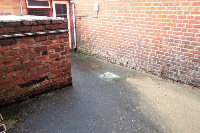 Rear Yard of St. Johns Terrace, Percy Main, North Shields NE29