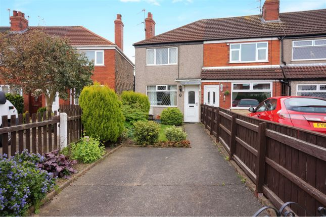 Thumbnail End terrace house for sale in Grove Crescent, Grimsby