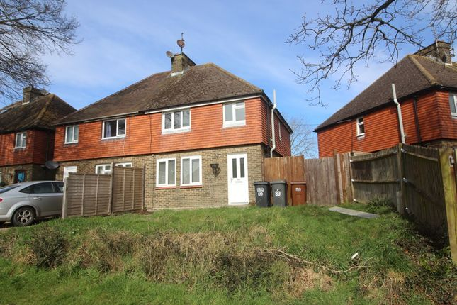 Thumbnail Semi-detached house for sale in Mill Road, Hailsham, East Sussex