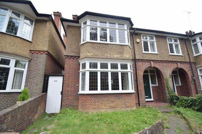 Thumbnail Semi-detached house to rent in Old Bedford Road, Luton