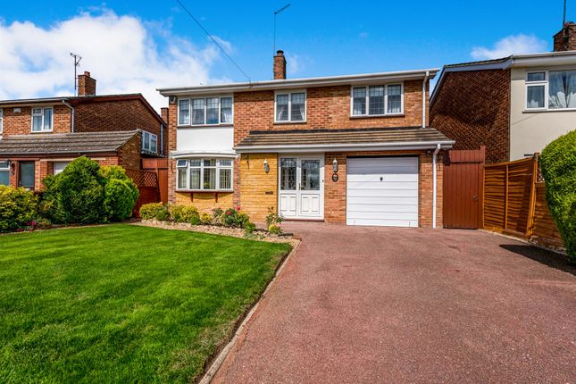 Thumbnail Detached house for sale in Greenfield Avenue, Abington, Northampton