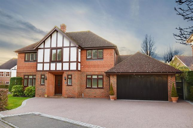 Thumbnail Detached house for sale in Gatcombe Way, Cockfosters