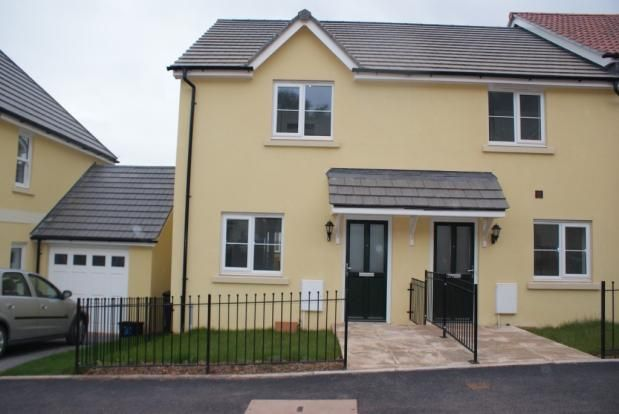 Thumbnail End terrace house to rent in Darwin Crescent, Torquay