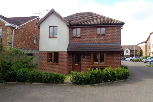 Thumbnail Detached house to rent in John North Close, High Wycombe