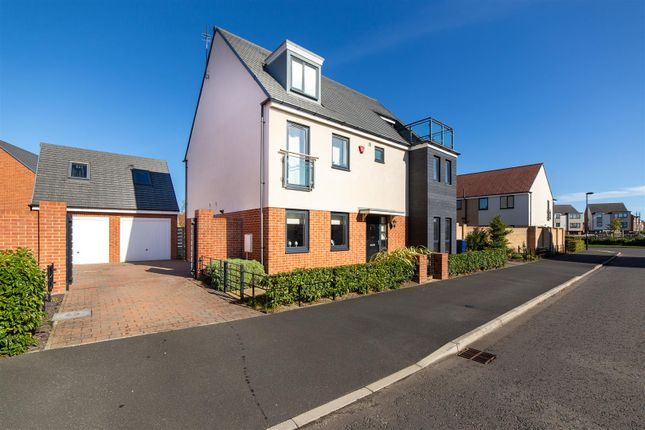 Thumbnail Detached house for sale in Shoreswood Way, Newcastle Upon Tyne