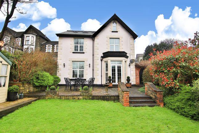 Thumbnail Detached house for sale in Tyfica Road, Graigwen, Pontypridd