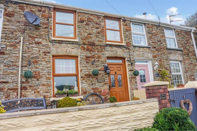 3 bed terraced house for sale in Cae Bryn Terrace, Bridgend CF32