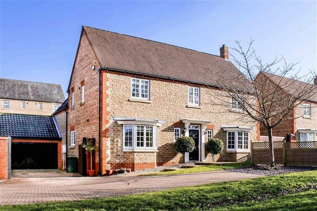 Thumbnail Detached house for sale in Sheridan Grove, Oxley Park, Milton Keynes