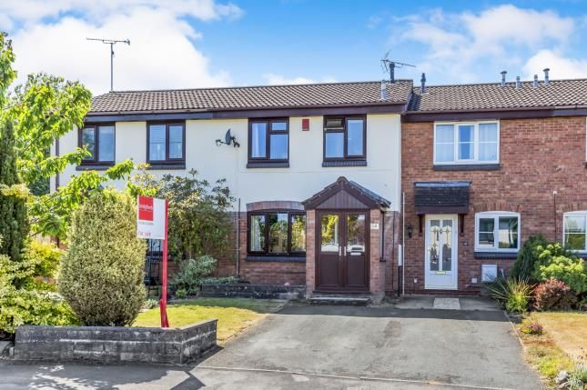 Thumbnail Town house for sale in Comfrey Close, Stoke-On-Trent, Staffordshire